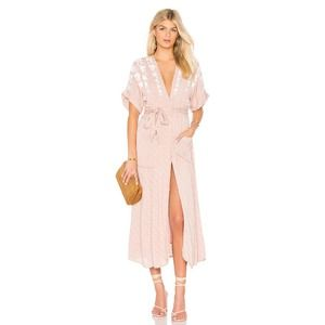 Free People Pink Love to Love You Dress